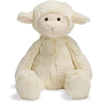 "Manhattan Toy Lovelies Lindy Lamb Stuffed Animal, 8"""