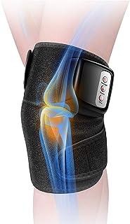 マッサージ器 フットマッサージャー 膝マッサージャー ひざ 太もも 腕 肩 肘 ヒーター付き 振動 マッサージ機 レッグマッサージャー 通気性 赤外線療法 膝サポーター ストレス解消 温熱マッサージ