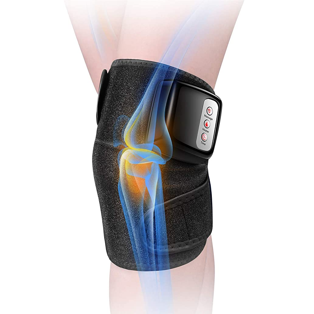 飢え聖人閉塞膝マッサージャー 関節マッサージャー マッサージ器 フットマッサージャー 振動 赤外線療法 温熱療法 膝サポーター ストレス解消 肩 太もも/腕対応