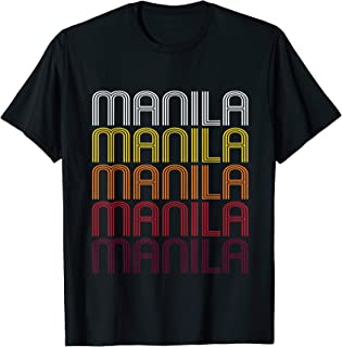 Manila, AR | Vintage Style Arkansas T-shirt