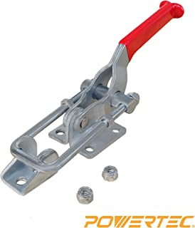 POWERTEC 20306 Latch-Action Toggle Clamp, 2000 lbs Capacity, 40341