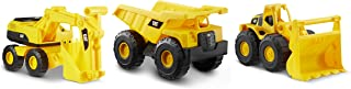 "Cat Construction 7"" Dump Truck, Loader & Excavator Combo Pack, Yellow"