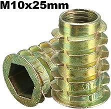 100 Stk für Klettergriffe  II Einschlagmutter M10 Stahl verz