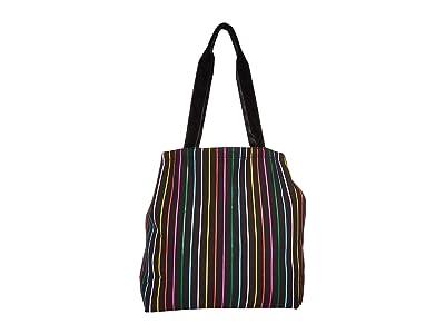 ban.do Deluxe Tote Bag (Disco Stripe) Handbags
