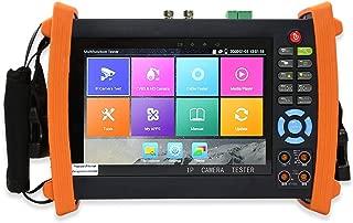 Electop 7 Inch IP Camera Tester Retina Display Analog Camera Tester CCTV Tester H.265 PTZ Control POE HDMI Input & Output Rapid ONVIF WiFi with Digital Multimeter 8600M Plus