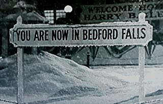 IT'S A WONDERFUL LIFE Movie BEDFORD FALLS Sign 2