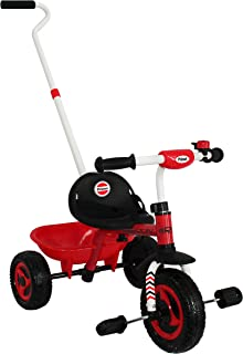 Prinsel Triciclo Run, color Rojo