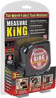 ONTEL Measure King 3-in-1 Digital Tape Measure String Mode, Sonic Mode & Roller Mode As seen On Tv