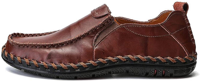 Thadensama 2018 ny män Loafers Loafers Loafers Luxury män skor Mode Casual Manliga skor Lace män Läder skor Designer läder Flat skor Dark bspringaaa 7  onlinebutik