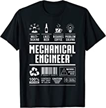 mechanical engineer gift for engineers in engineering T-Shirt