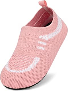 Geweo Zapatillas de Agua Niños Escarpines de Playa Niña Zapatos Calcetines Deportes Antideslizantes Piscina Playa Yoga Nat...