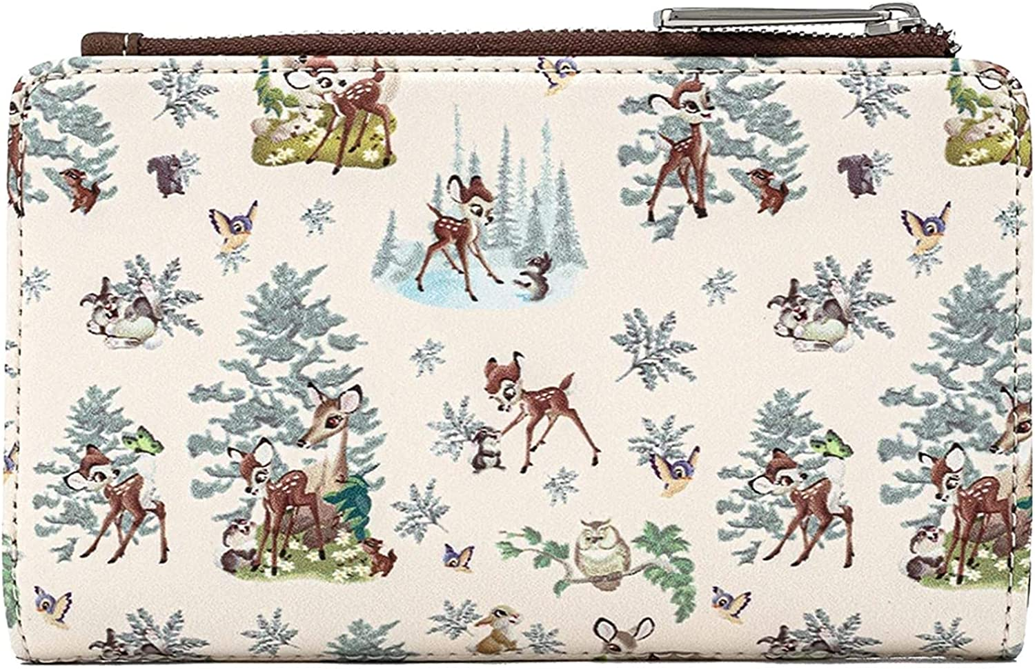 Loungefly Disney Bambi Scenes Faux Leather Wallet
