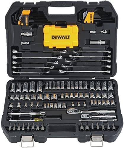 DEWALT Mechanics Tools Kit and Socket Set, 142-Piece (DWMT73802)