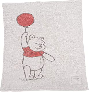 Barefoot Dreams The CozyChic Disney Winnie The Pooh Blanket, Multicolor Throw, Double Layer Jacquard Knit