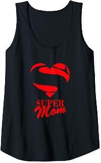 Super Mom Canotta Donna Super mamma Supereroina La migliore mamma