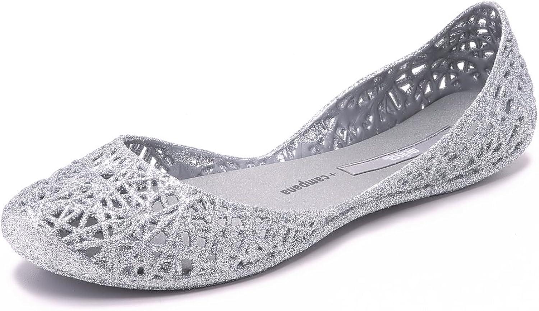 Melissa Women's Campana Over item handling Sale price ☆ Zigzag Flat