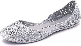 Campana Women's Zigzag Ballerina Flat