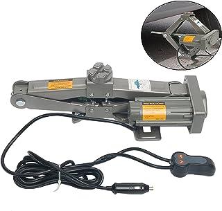 YaeTek スチール電動ジャッキ カージャッキ シガーソケット対応 1.0t パンタグラフ型