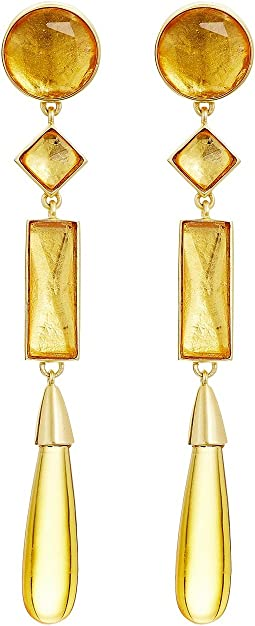 Tory Burch - Embellished Linear Earrings