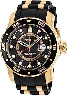 ساعة معصم 6991 برو درايفر - سكوبا بحركة كوارتز وسوار ستانلس ستيل ومينا اسود للرجال من انفيكتا