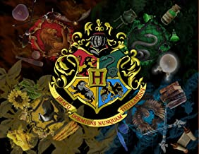 Harry Potter Hogwarts Image Photo Cake Topper Sheet Personalized Custom Customized Birthday Party - 1/4 Sheet - 76994