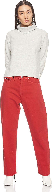 Tommy Jeans Womens Tjw Hybrid Longsleeve Sports Knitwear