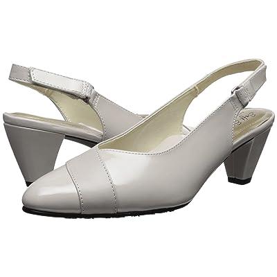 Soft Style Dagmar (Silver Cloud Kid/Patent) Women