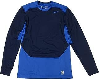 Men's Pro Combat Hyperwarm Fitted Dri-fit Max Shield Crew Shirt