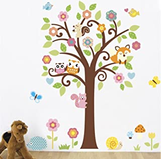 Avenue4u Nursery Room Wall Decal, Forest Animal Stickers, Class Room Stickers, Teacher Decals, Nursery Decorations, Library Decoration, School Decals, Children's Room Decoration