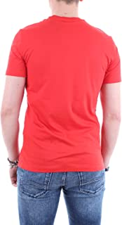 Armani Exchange Men's 8NZT74 T-Shirt, Red (High Risk Red 1450), 2X-Large