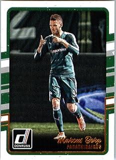 2016 Donruss #200 Marcus Berg Panathinaikos Soccer Card-MINT