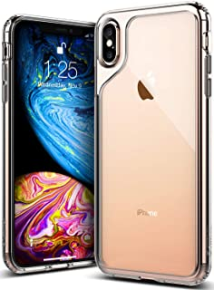 Caseology Waterfall for Apple iPhone Xs Max Case (2018) - Minimal & Transparent - Clear