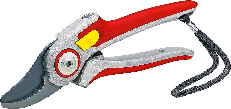 Wolf-Garten RR5000 Professional Bypass Aluminium Secateurs, Red, 31.5x4.7x2.8 cm