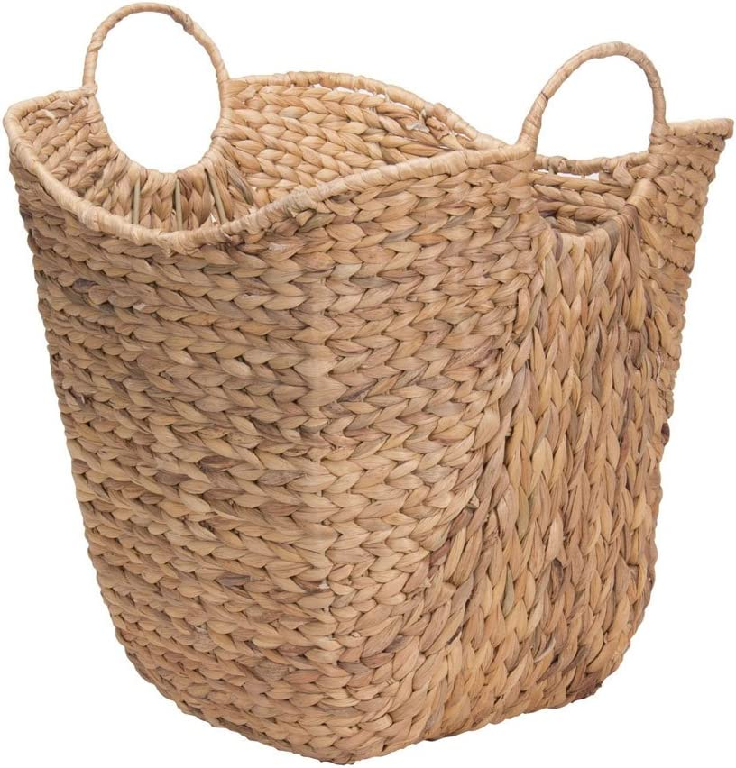 Household Essentials ML-4002 Tall Water Online limited 2021 autumn and winter new product Wicker Basket Hyacinth w