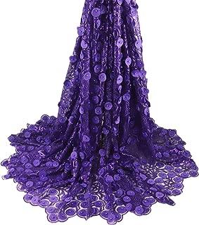 Best purple lace fabric Reviews