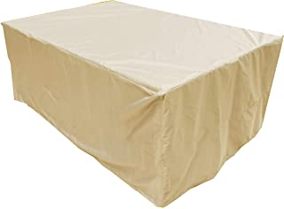 KaufPirat Premium Funda para Muebles de Jard/ín 140x85x75 cm Cubierta Impermeable Funda para Mesa para Mobiliario de Exterior Antracita