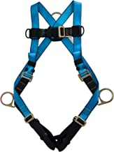 Tractel A742XL - Versafit Safety Harness, XL Size, quick-connect legs, dorsal D-ring, side positioning D-rings, 310 lbs. (...