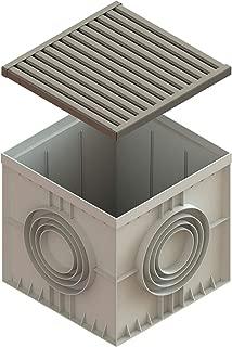 Standartpark - 22x22 inch Stainless Steel Catch Basin ADA/Heel Proof C class Package