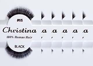 6packs Eyelashes - #66 (Christina)
