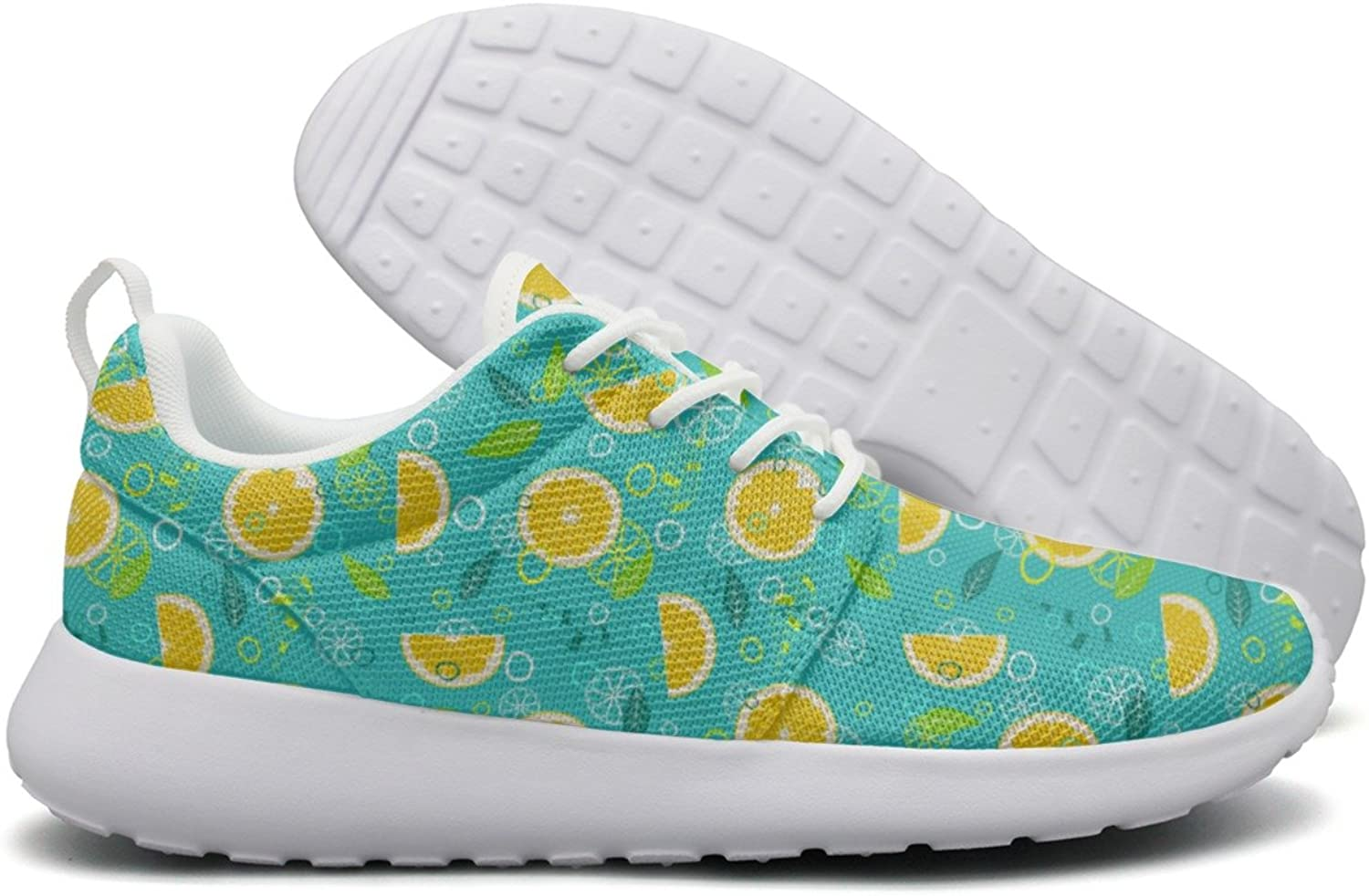 Hoohle Sports Fruit Mix Lemon Diet Womens Roshe One Flex Mesh Mens Casual shoes