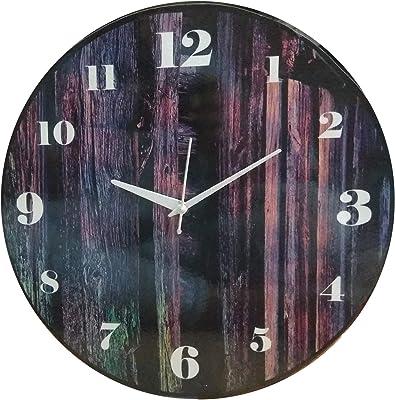Shiva Arts Designer Round MDF Wall Clock