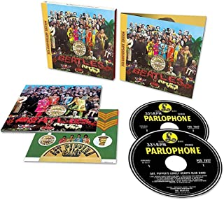 The Beatles' 50th Anniversary of Sgt Pepper's Lonely Hearts Club Band (Deluxe 2CD). EU Import
