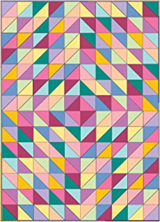 Connecting Threads Beginner Quilt Kit - Half-Square Triangle Fun (Rainbow)