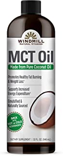 Windmill Natural Vitamins MCT Coconut Oil 32 Oz,, ()