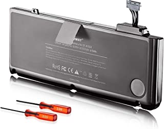 E EGOWAY Laptop Battery for Apple A1322 A1278 Unibody MacBook Pro 13 Inch, Also fits: 661-5557 661-5229 MB990ll/A MB991ll/A + Two Free Screwdrivers