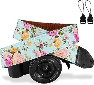 Camera Strap,Eggsnow Universal Camera Neck Shoulder Strap for Mirrorless Polaroid Digital SLR Camera-Light Blue