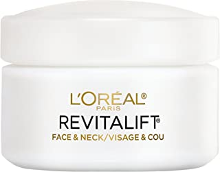 L'Oreal Paris Skincare Revitalift Anti-Wrinkle and Firming Face and Neck Moisturizer with Pro-Retinol Paraben Free 1.7 oz.