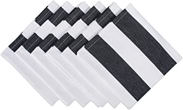 DII Black & White, Napkin, 6 Piece