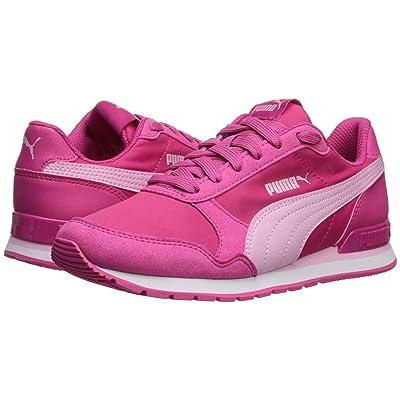 Puma Kids ST Runner v2 NL (Big Kid) (Fuchsia Purple/Pale Pink/Puma White) Kids Shoes