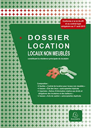 Exacompta - 44E - Dossier Location - Locaux Non Meublés